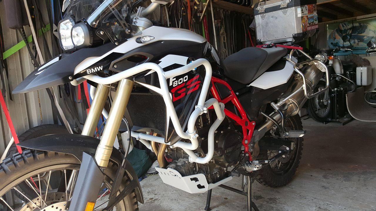 On Her Bike Crashes Bmw F800gs Outback Motortek