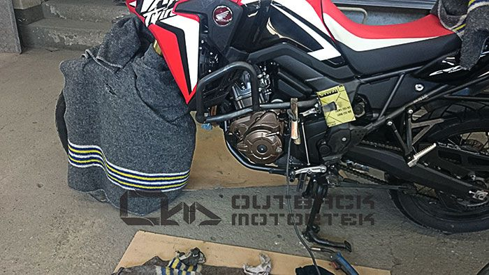 Africa Twin crash protection