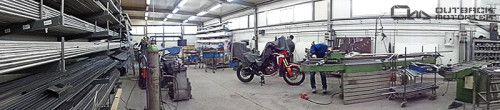 Honda Africa Twin CRF1000L gets accessories at Outback Motortek