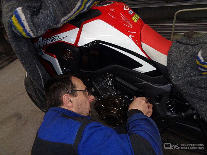crash bar manufacturing for Honda CRF1000L