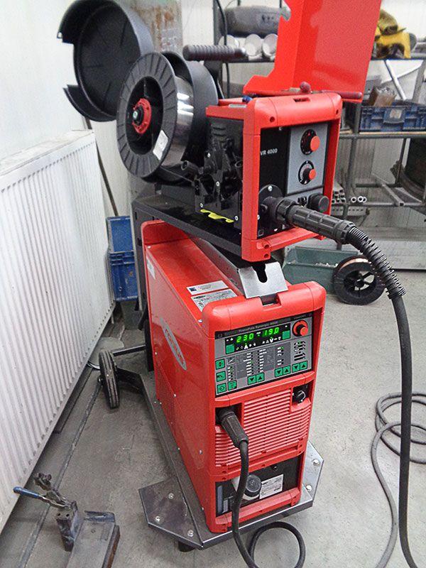 Fronius welding machine at Outback Motortek