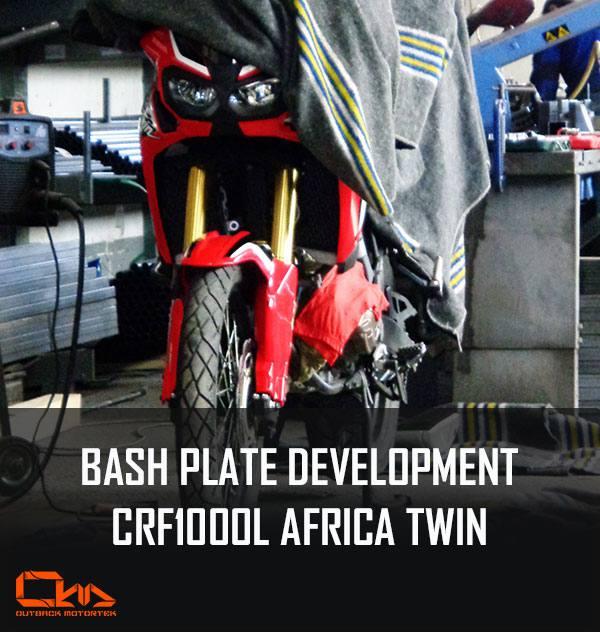 offroad bash plate africa twin outback motortek