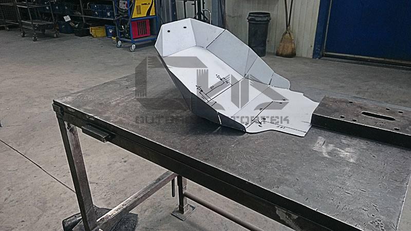 Outback Motortek bash plate for crf1000l