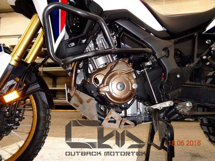 outback motortek skid plate honda africa twin