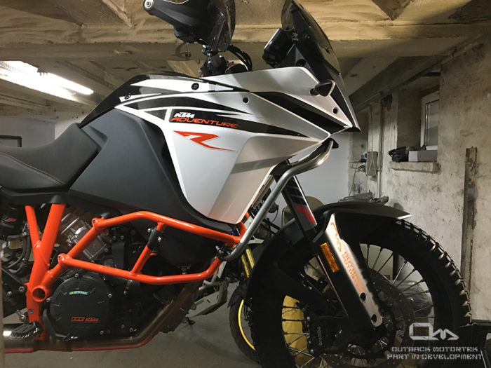 ktm 1090/1190 adventure upper crash bars | outback motortek