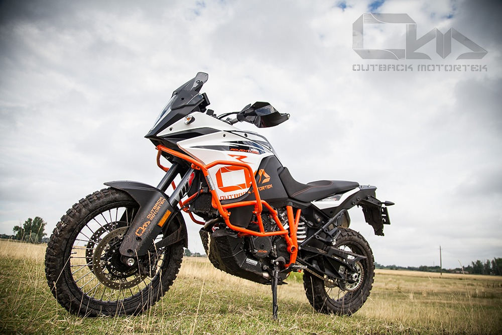 KTM 1090/1190R Adventure Upper Crash Bars | Outback Motortek