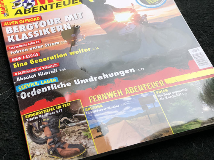 German touring giant rated our products – Motorrad Abenteuer