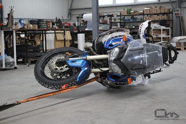 Yamaha Super Tenere XT1200Z crash bars test