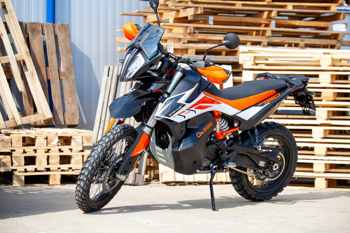 KTM 790R Adventure at Outback Motortek