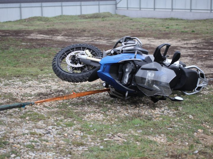 Final testing – BMW R1200GS Crash Bars