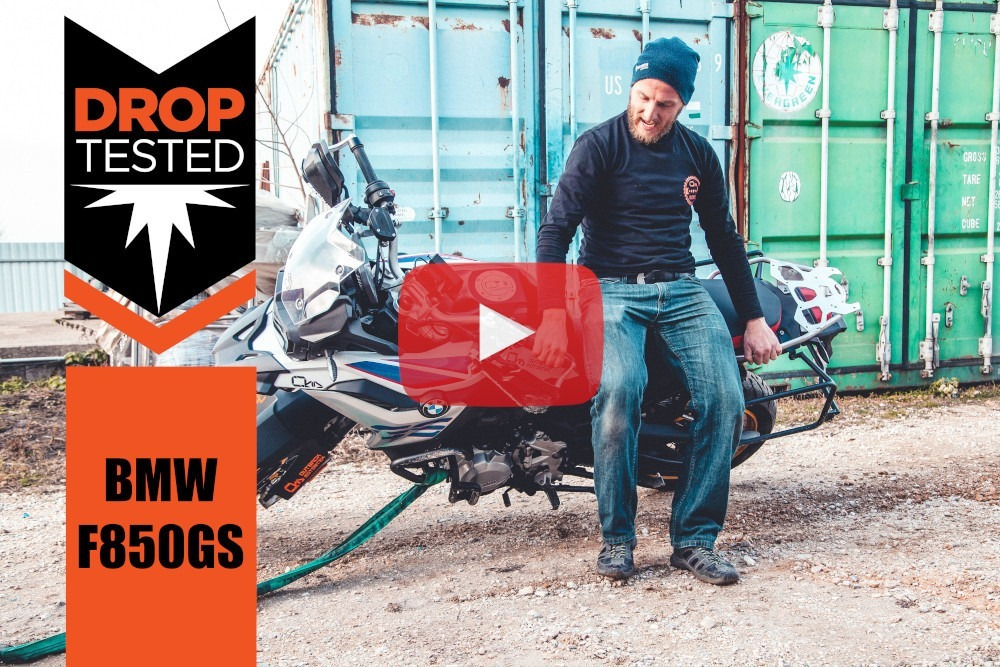 BMW F850GS Drop Tested