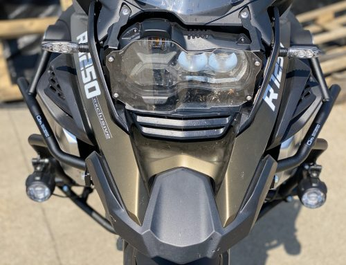 Taking on the unexpected – BMW R1250GSA Upper Crash Bars