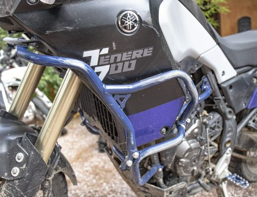 The drop test results are backing up our claims – Yamaha Tenere 700