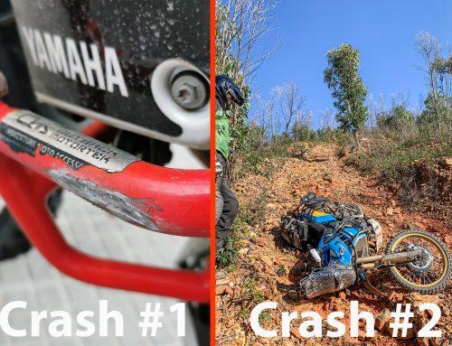 Bad week, bad crashes – Yamaha Tenere 700 Crash Bars