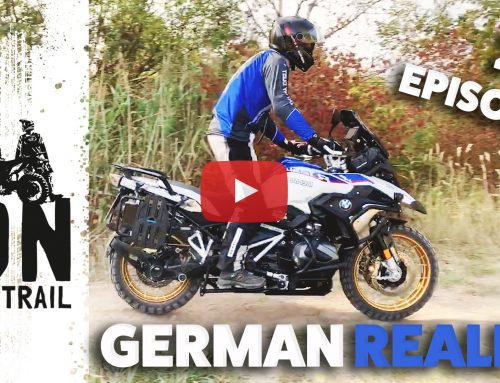 Riding off-road in Germany? Here's how it looks. Episode #2 of On My Trail