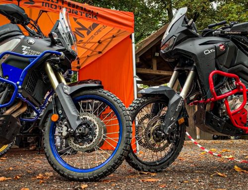 Colour Matching Honda and Yamaha Crash Bars