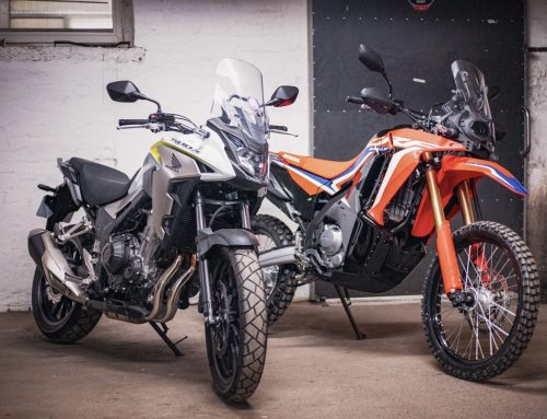 Honda CRF300Rally and CB500X – Development Projects
