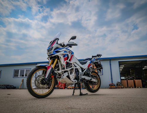 How to outfit an Africa Twin 1100 with our crash bars in 5 minutes?